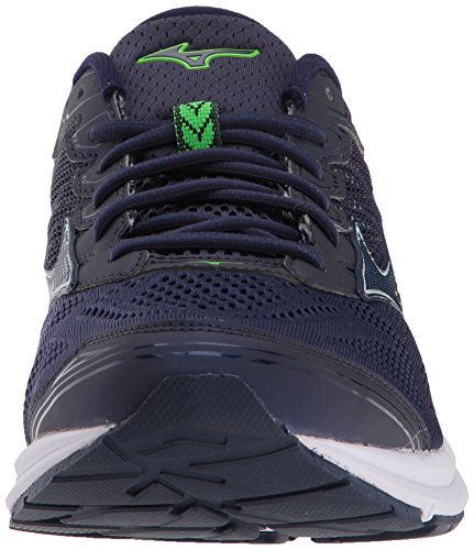 Mizuno Mens Wave Rider 21 Running Shoe Eclipse