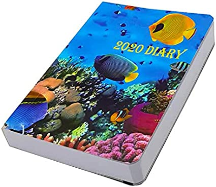 2020 Diary Day a Page Full Page Diary Gloss Cover A6 Pocket Size Planner