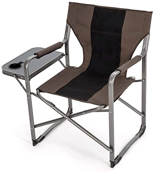 ZXCMNB Sillas Plegables, Silla De Camping Plegable con Mesa ...