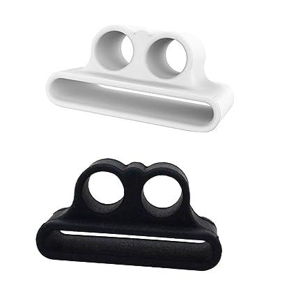 Baoblaze 1 Pieza de Fundas de Silicona Anti Perdida con Par Cubiertas de Auriculares Compatible con