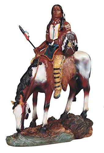 StealStreet Native American Indian Warrior Woman Riding Hors