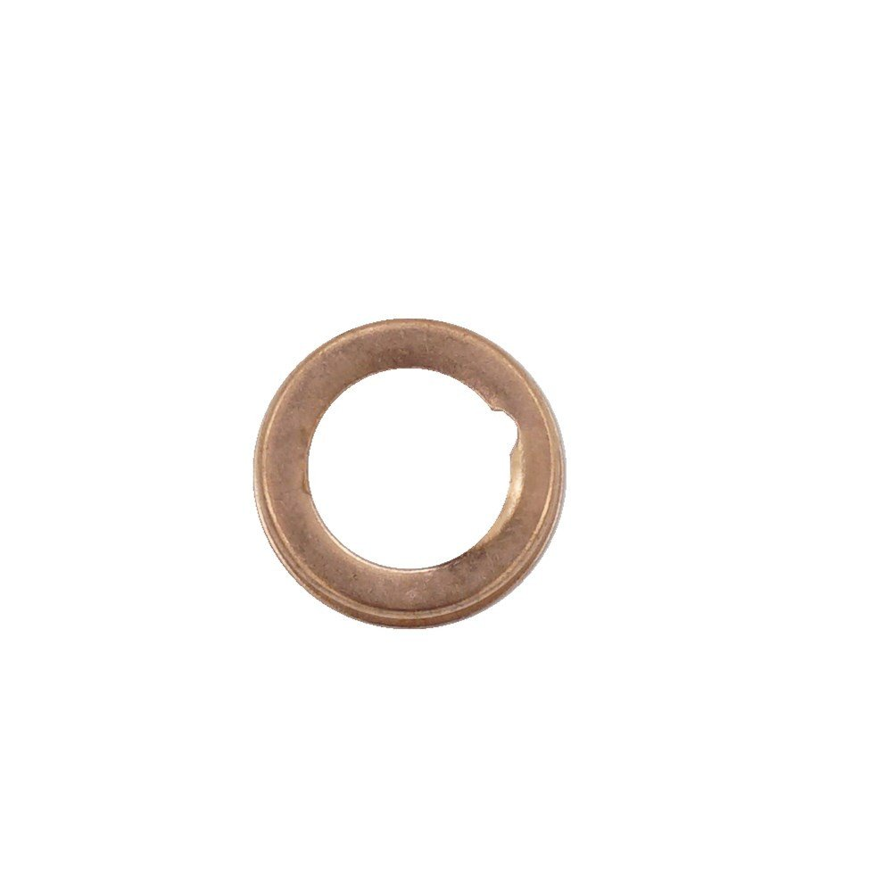 10 Pcs Copper Oil Drain Plug Gasket Crush Washers Seal for Nissan Rogue Sentra Xterra Altima Frontier Armada Jukes 350Z Infiniti G35 G37, Replacement for The Part # 11026-01M02, Used for Oil Change Waylin
