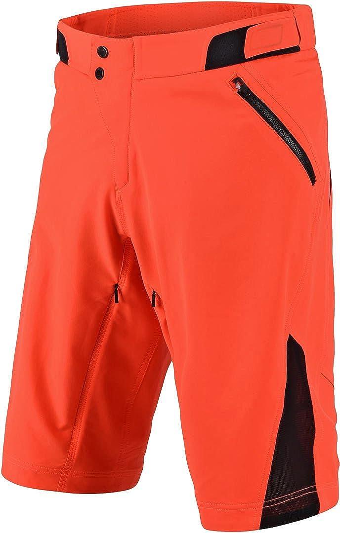 Black Troy Lee Designs Ruckus Mens BMX Shorts