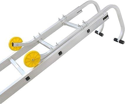 Todeco - Gancho de Escalera de Techo, Gancho de Techo Universal para Escalera - Carga máxima: 150 kg - Material: Acero - 0,93 Metro(s), EN 131: Amazon.es: Bricolaje y herramientas