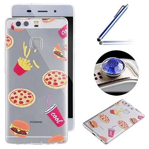 3 opinioni per Etsue Custodia Per Huawei P9,Bella Fiori Style Creativo Designi,Slim Fit Ultra