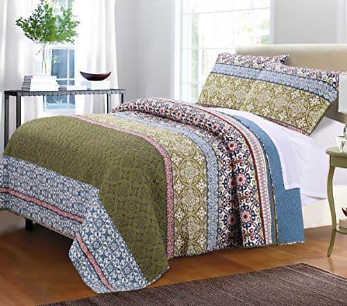 Greenland Home Shangri-La Quilt Set, King