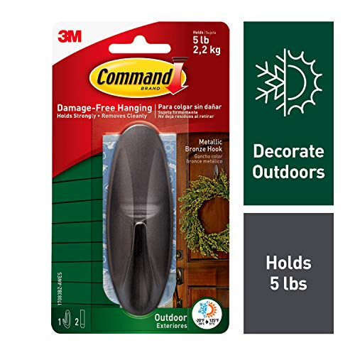 Command Outdoor Large Hook (17083BZ-AWES)