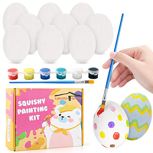 customize your own squishy eggs