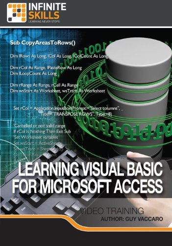Learning Visual Basic For Microsoft Access [Download]