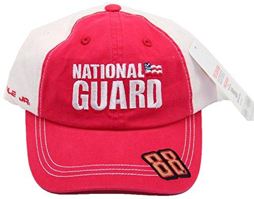 Dale Earnhardt Jr. #88 National Guard Adjustable Cap Hat Red ()