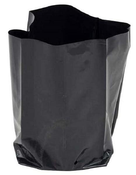 12 unidades de bolsas para plantas de plástico 7.0 L-20 сm x ...