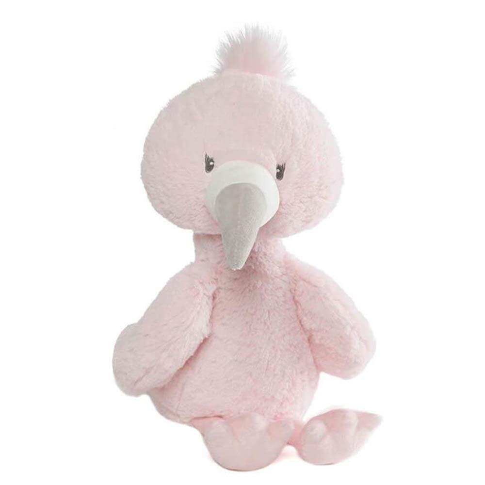 Gund 6052123 Baby stuzzicadenti Flamingo grande peluche, multicolore
