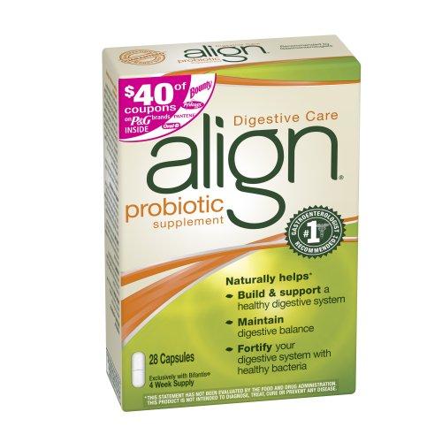Align Digestive Care Probiotic Supplement, 28 Count