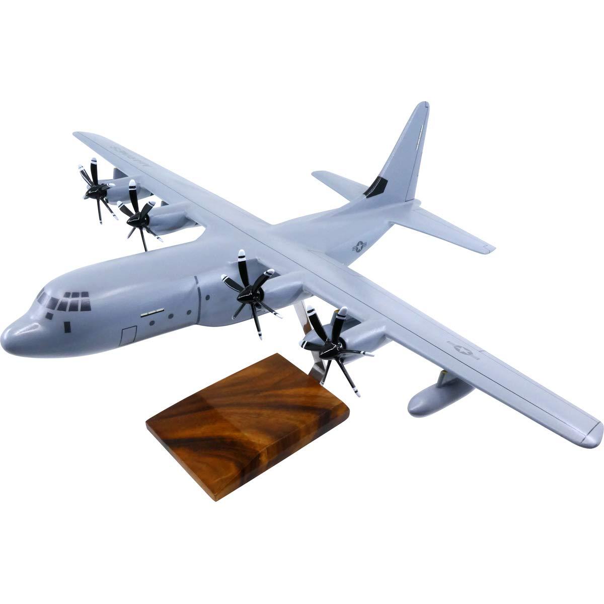 Lockheed Martin KC-130J Super Tanker Large Mahogany Model