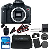Canon EOS Rebel T6i Digital SLR (Body Only) - Wi-Fi Enabled + 16GB Deluxe Accessory Bundle
