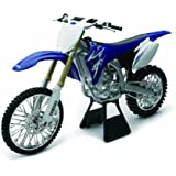Licensed Replica Diecast of the Yamaha YZ450F 2009 Motorcross Dirt Bike 1:6 scale Die Cast Motorcycle by NewRay
