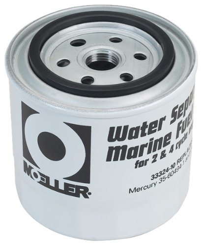 Moeller Universal Style Water Separating Fuel Filter