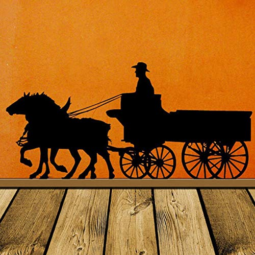 Dalxsh Pioneer Horse Decor, Wagon, Old West, Western, for sale  Delivered anywhere in USA