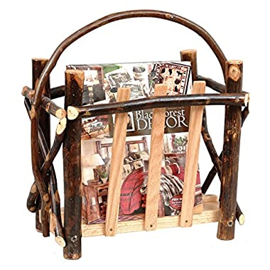 Hickory Magazine Rack