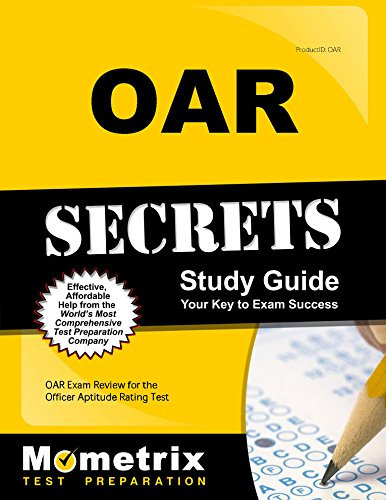 Pdf Test Preparation OAR Secrets Study Guide: OAR Exam Review for the Officer Aptitude Rating Test