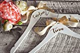 Personalized Wedding Dress Hangers for Bride and Bridesmaids