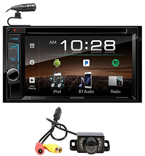 Kenwood DDX375BT 6.2″ In-Dash Car DVD Bluetooth Receiver iPhone/Android+Camera