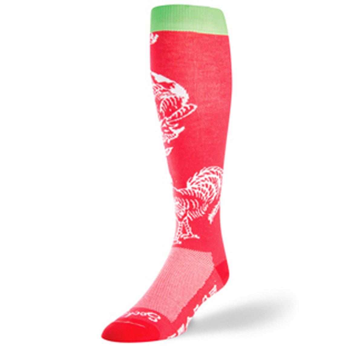 SockGuy Sriracha Knee High Socks X8BLK