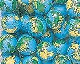 Madeline Chocolate Company Globe Foiled Milk Chocolate Earth Balls