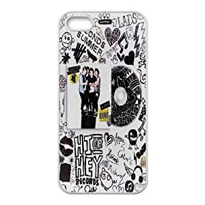 High quality 5SOS Band-5 Second of Summer music band for fans durable cases For Iphone 4 4S case cover HQV479721348