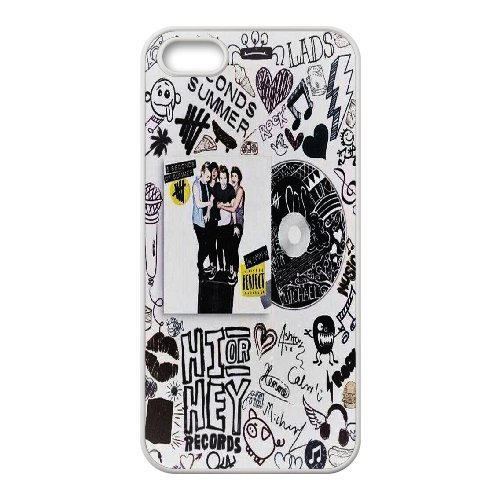 High quality 5 Second of Summer music band - 5SOS Band for fans durable cases For Apple Iphone 5 5S Cases NLL872120945