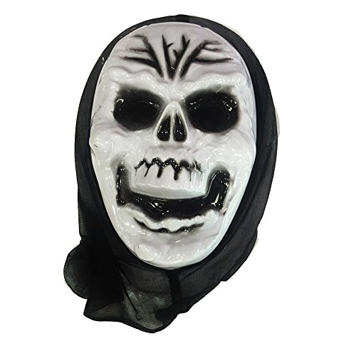[Halloween mask ghost ghost face witch skeletons (skeleton)] (Scary Face Paint Halloween Costumes)