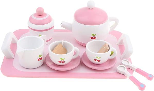Kinderküche Rollenspiel Frühstückstee Teeservice Mit Zubehör Küchenspielzeug