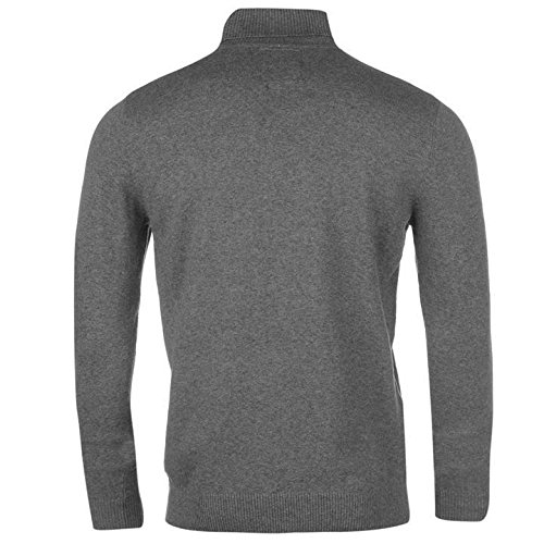 Kangol col roulé en tricot Pull pour homme Gris anthracite Pull Top