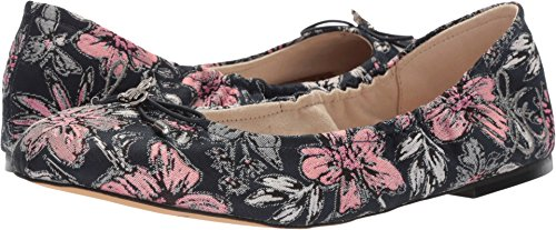 largest supplier online outlet footaction Sam Edelman Women's Felicia Ballet Flat Navy Multi Secret Garden Jacquard Fabric m0egXUuj