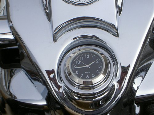 (Fork Lock Clock, Harley Road King)