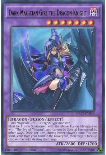 YuGiOh : DRL3-EN044 1st Ed Dark Magician Girl the Dragon Knight Ultra Rare Card - ( Yu-Gi-Oh! Single Card ) by Deckboosters
