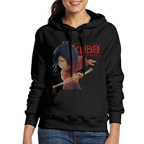 Justin Junior Bay (Bekey Women's Kubo And The Two Strings Poster Hoodie Sweatshirt M Black)