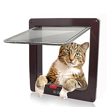 Namsan 4 Way Cat Small Dog Glass Door Pet Screen Door Protector