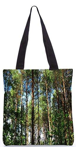 """Snoogg Mehrere Verzweigte Baum Tragetasche 13,5 X 15 In """"Einkaufstasche Dienstprogramm Trage Aus Polyester Leinwand"""