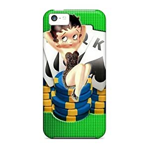 ZZoGE1356kHOFr Case Cover Protector For Iphone 5c Betty Poker Case