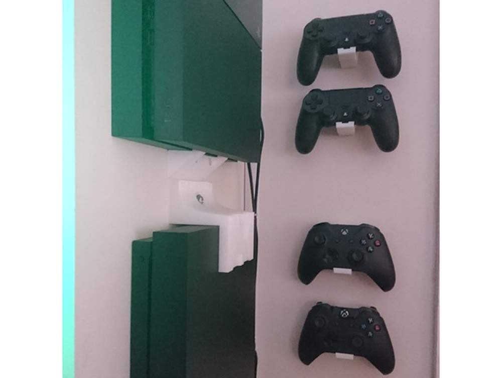 Controller Wall Mount Strong Sturdy Design Gamepad Hooks for Microsoft Xbox One