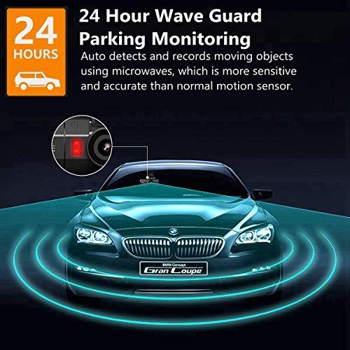 Vantrue T2 24/7 Recording OBD2 Dash Camera Super Capacitor Dash Cam 1920x1080P 2.0'' LCD 160° Car Dashboard Camera w/Microwave Parking Mode Recorder, Night Vision, Sony Sensor, Support 256GB Max by VANTRUE (Image #2)