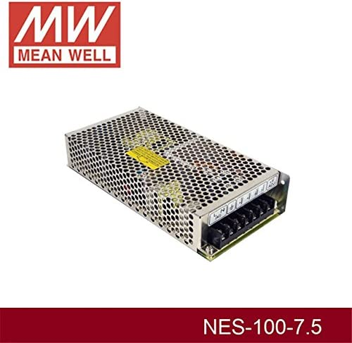 Enclosed Type 102W 7.5V 13.6A NES-100-7.5 Meanwell AC-DC Single Output NES-100 Series MEAN WELL Switching Power Supply