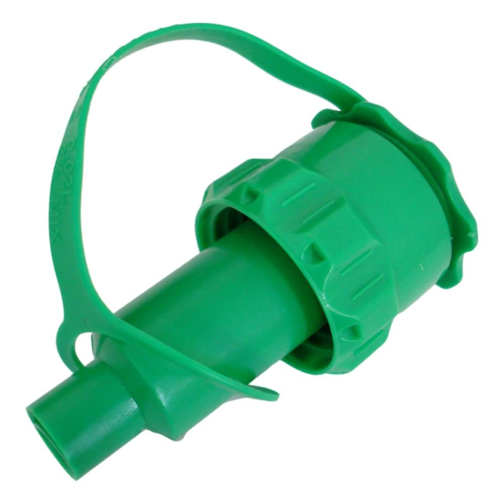 Green Saw Chain Oil Anti Spill Spout For Rocwood Combi Combination Fuel Can