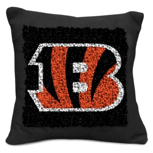 Sports Latch Hook (NFL Cincinnati Bengals Pillow Latch Hook Kit, 9-Inch)