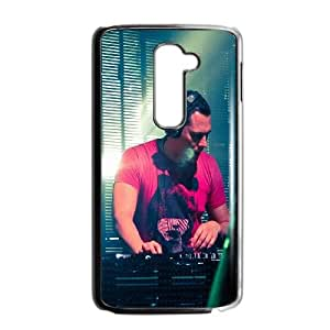 LG G2 Cell Phone Case Black hc73 dutch dj record producer tiesto music VIU005840