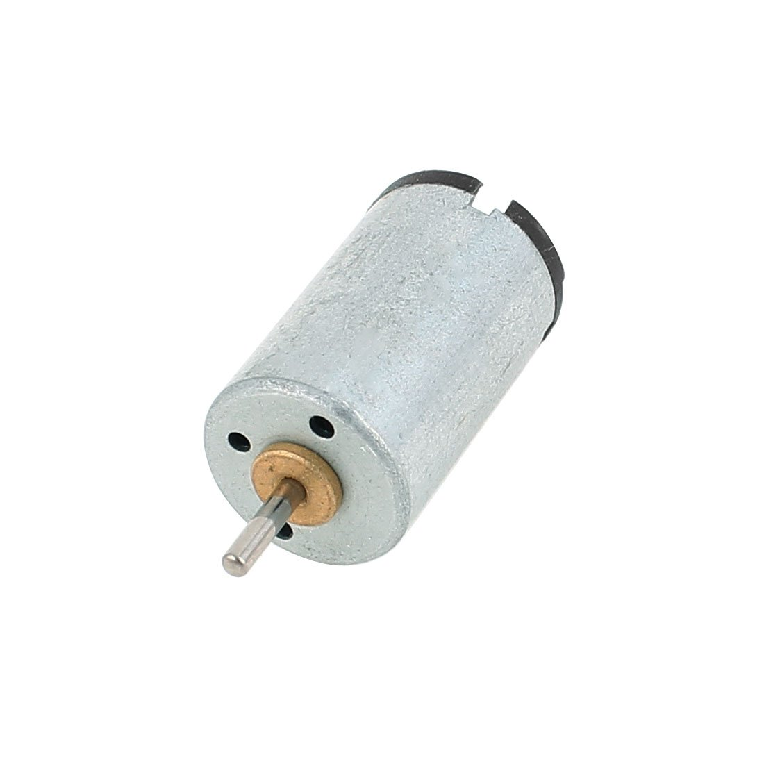 uxcell DC 6V-12V 25000RPM Speed 1.5mm Shaft Cylindrical Electric Micro Motor US-SA-AJD-188607