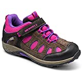 Merrell Chameleon Low A/C Hiking Shoe (Infant/Toddler/Little Kid),Brown/Pink,6 M US Big Kid