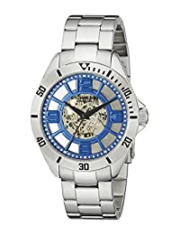 Stuhrling Original Men's 111.33116 Classic Neo Winchester Automatic Skeleton Blue Dial SWatch