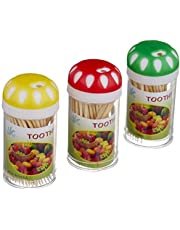 MT Toothpicks Box, 3 Pieces - Beige